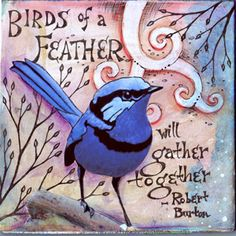 Feather   �2011 Vickie Hallmark   art journal mixed media