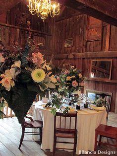 Floral and Event Design by Bilancia Designs for The Loft at Jack's Barn, NJ Barn Wedding Venue.
