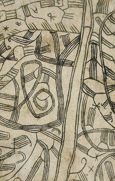 Africa Mbuti barkcloth. Ituri Forest, Democratic Republic of Congo.detail. From Arik Anpin