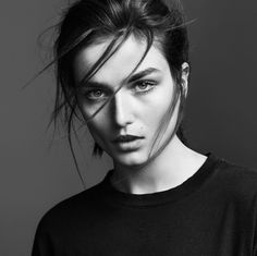 frame denim 2014 fall winter campaign5 Andreea Diaconu is Front & Center for FRAME Denims Fall 2014 Campaign