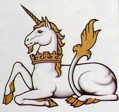 The lion's tail on unicorns really seems to have gone out of fashion these days
