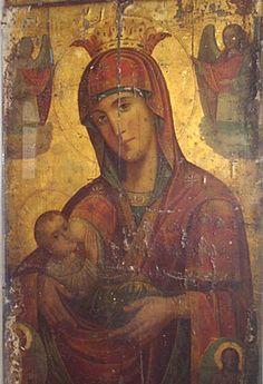 икона Богоматери «МЛЕКОПИТАТЕЛЬНИЦА»