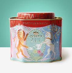 F&Mフォートナム&メイソン クイーンズブレンドギフトセット エリザベス女王記念ブレンド紅茶 ルースリーフ250g - sobachkoi