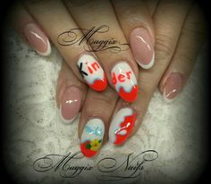 Kinder nails by Maggix