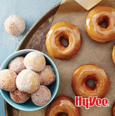 Kill 2 birds with 1 stone with these Coffee Doughnuts. Use your favorite blend.