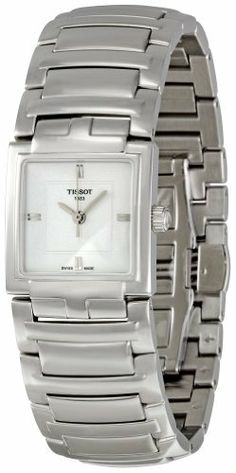 Tissot Women's T051.310.11.031.00 White Dial Watch Tissot. $259.99. Quartz movement. Water-resistant to 100 M (330 feet). Durable sapphire crystal protects watch from scratches,. Case diameter: 24 mm. White dial watch. Save 39% Off!