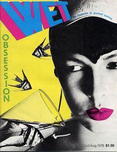 April Greiman | WET Magazine cover, 1978