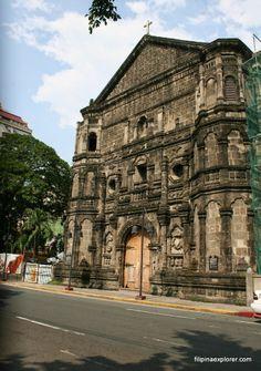 Malate Catholic Church along Manila Bay Baywalk Mosques, Cathedrals, Philippine Architecture, Filipino Culture, Vigan, Catholic Churches, Filipiniana, Church Architecture, Vacation Resorts