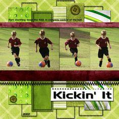 Kickin' It - Scrapbook.com