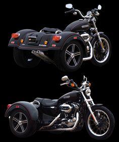 Harley Trike conversion. Looove it!