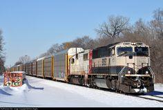 RailPictures.Net Photo: BNSF 9773 Burlington Northern Santa Fe EMD SD70MAC at Minneapolis, Minnesota by Brian Ziegler