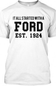 Here's the Latest Tee Now on Sale from http://LoveOurTees.com !! #FordFamily