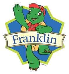 """""""Hey its Franklin.. Coming over to play..Growing a little..Everyday...here he comes with all his friends, they've got stories got time to spend with you! hey its Franklin, coming in to my house.. Hey its Franklin.. coming into your house..hey its Franklin!"""" idk why I remember theme songs like this lol"""