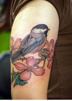 1000 ideas about chickadee tattoo on pinterest tattoos bird tattoos and robin tattoo. Black Bedroom Furniture Sets. Home Design Ideas
