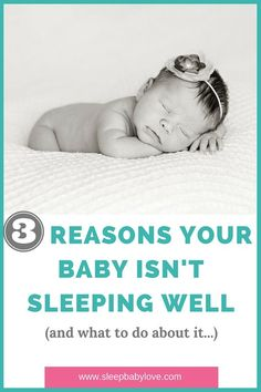 3 Reasons Why Your Child Is Not Sleeping Well