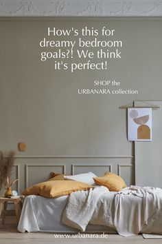 Using different shades of beige is creating a calm and soothing atmosphere. Sleep peacefully in the softest, cosiest bedding made from the finest natural fabrics out there – sweet dreams! Linen in a selection of shades to complement all interiors. Add a pop of mustard yellow, it's all in the details. Discover hand-picked home textiles and home accessories from URBANARA! Color Trends, Design Trends, Natural Bedroom, Shades Of Beige, Soft Blankets, How To Make Bed, Minimalist Decor, Mustard Yellow, Home Textile