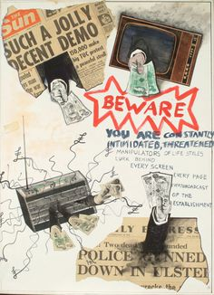 Jamie Reid • jamiereid.org • Beware - You Are Constantly Intimidated, Threatened