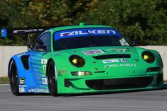 Team Falken Tire Porsche 911 GT3 RSR tests at Road Atlanta