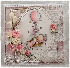 Cards By Becky: Balloon Basket Sneak Peek for Vintage At A Creative Romance
