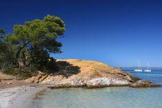 La Plage d'argent à Porquerolles, Var : Les plus belles plages de Méditerranée - Linternaute