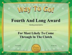 Free funny award certificates templates sample certificates 101 download 101 funny certificates to give family friends and teammates these funny award yadclub Choice Image