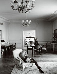 German Vogue, Blonde on Blonde, March 2014 | Mario Testino