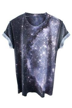 Galaxy Tee, Shadowplay New York, Galaxy Print Clothing