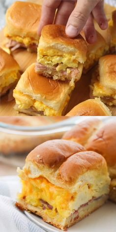 Watch and you'll see why our breakfast sliders recipe went viral! They're easy and amazing!! #breakfast #sliders #recipe #easyrecipe #sandwich
