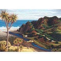 Limited edition print of Harotaonga by NZ artist Tony Ogle
