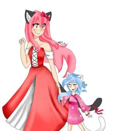 dante and kawaii~chan don't go together dante and nicol do tho nekoette~tan is cute she could've been adopted i just don't like kawaii~chan and dante together