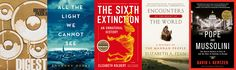 5 Must-Read Books: The 2015 Pulitzer Prize Winners