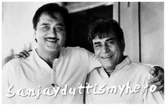 """In Mehboob Khan's Mother India (1957), Sunil Dutt and Rajendra Kumar played natural sons of Nargis's character. Rajendra Kumar shared a special bond with co-star Sunil Dutt, who once quoted, """"Even though Rajendra Kumar did not win any award throughout his career, he was one of the most genuine human beings I have ever met in my life."""" Rajendra Kumar stood rock solid behind Sunil Dutt during his political campaigns as well as Sanjay Dutt's distress. #sunildutt #rajendrakumar #kumargaurav…"""