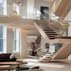 Penthouse Loft Residence In The SoHo Cast Iron Historic District Is Washed  In Natural Light, Designed By Gabellini Sheppard Associates   CAANdesign