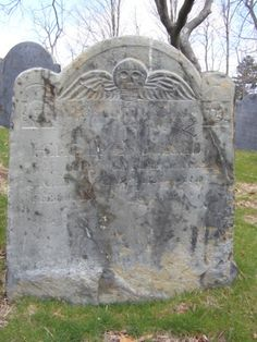 in the Old Hill Burying Ground, Concord, MA