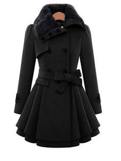 Long Trench Coat, Belted Coat, Winter Overcoat, Mode Mantel, Plus Size Winter, Coats For Women, Clothes For Women, Long Winter Coats, Trench Coats