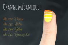 Dégradés du vendredi #8 orangé - Friday's gradient orange