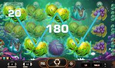 Игровой автомат Fruitoids с выводом денег. Если вы устали от стандартных автоматов на фруктовую тематику, обратите внимание на игровой аппарат Fruitoids. Вы будете выводить из него реальные деньги, собирая призовые комбинации из инопланетных плодов.   Выигрывайте день