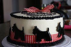 scottish terrier birthday wishes Happy Birthday To Us, Dog Birthday, Birthday Cake, 11th Birthday, Birthday Wishes, Birthday Ideas, Birthday Parties, Dog Cakes, Cupcake Cakes