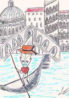Vacances... Venise - Lily la Plume