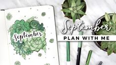 September Plan with Me by Amanda Rach Lee