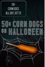 Sonic Drive-In: 50 Cent Corn Dogs on Halloween Restaurant Deals, Fast Casual Restaurant, Casual Restaurants, Sonic Drive In, Corn Dogs, Food Reviews, Halloween, October, Holidays