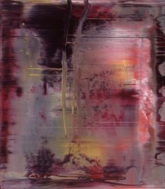 Gerhard Richter, Abstraktes Bild (Abstract Painting), 2000 . Oil on Alu Dibond. 46cm H x 40cm W.