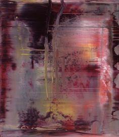 Gerhard Richter, Abstraktes Bild (Abstract Painting), 2000 . Oil on Alu Dibond. 46cm H x 40cm W.