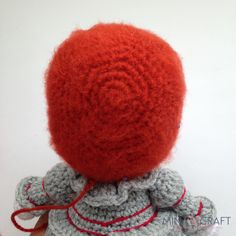 Pennywise the clown Amigurumi Crochet Art, Free Crochet, Pennywise The Clown, Crochet Dolls Free Patterns, Sock Toys, Brick Colors, Sport Weight Yarn, Wonderful Picture, Sewing Basics