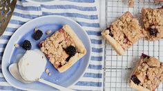 Blackberries and apples come together in this delicious slab-style pie that will wow the crowd every time. An irresistible crumb topping makes it extra-special.