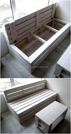 50 cool ideas for upcycling wooden pallets - Cool Furniture ideas Pallets Upc… &; Wood DIY ideas 50 cool ideas for upcycling wooden pallets - Cool Furniture ideas Pallets Upc… &; Wood Pallet Furniture, Furniture Projects, Cool Furniture, Furniture Design, Pallet Couch, Barbie Furniture, Furniture Plans, Furniture Stores, Lawn Furniture