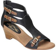 A2 by Aerosoles T-Strap Sandals - Mayflower