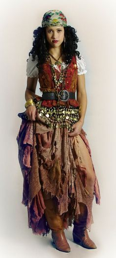 homemade gypsy costume - Google Search
