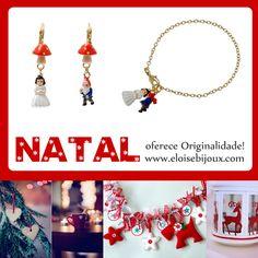 #natal #mala #brincos #bijuteria #acessórios #moda