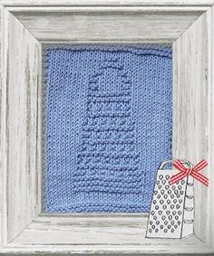 Knitted Dishcloth Pattern Kitchen Theme
